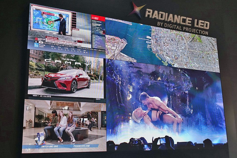 Digital Projection Radiance LED Video Wall at CEDIA 2017