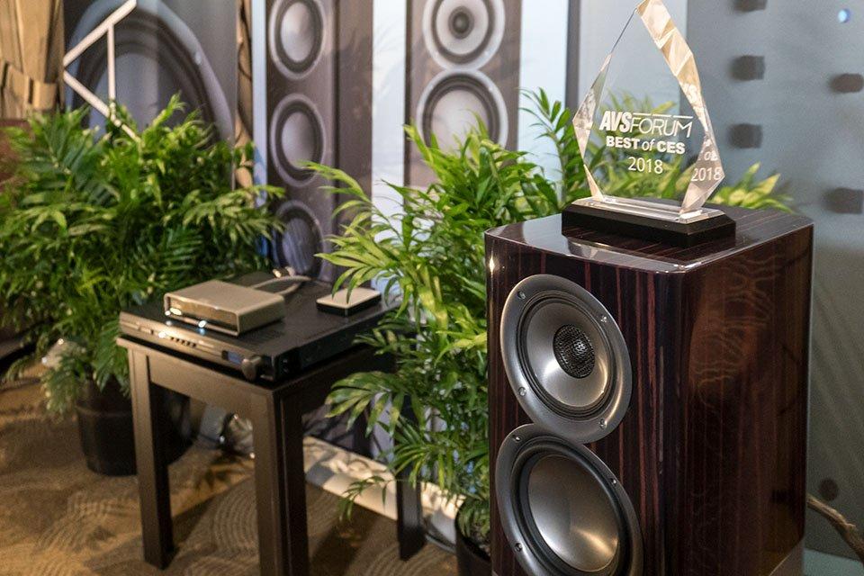 Best of CES 2018: ELAC Argo B51 Wireless Powered Speakers
