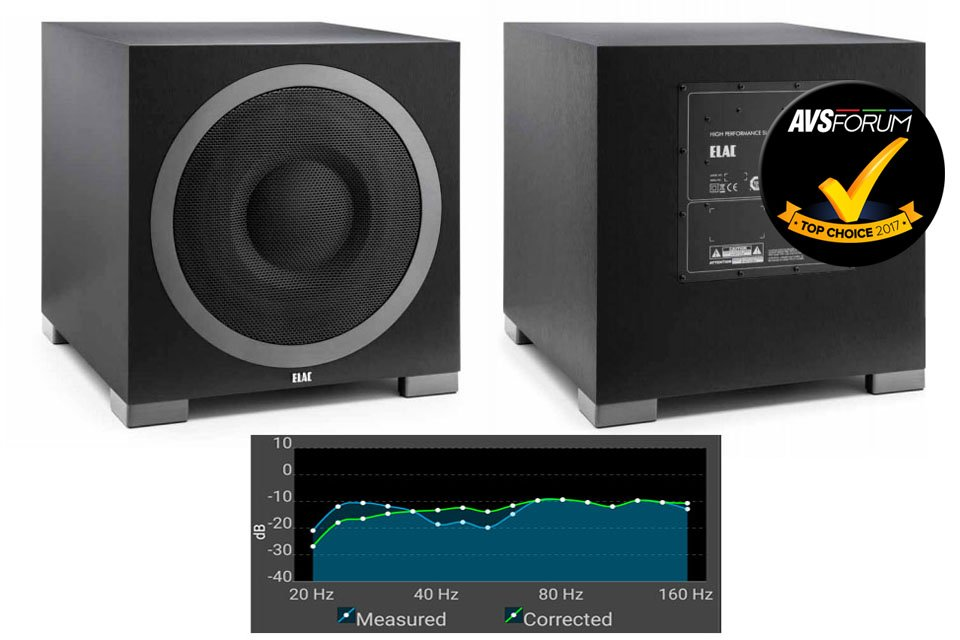 ELAC Debut S12EQ Subwoofer Review