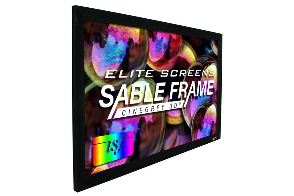 elite screens sable frame cinegrey 3d