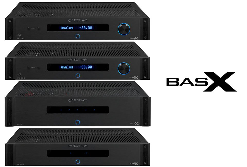 Emotiva Debuts BasX Audio and AV Components