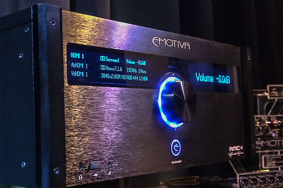 Emotiva RMC-1 Processor at CEDIA