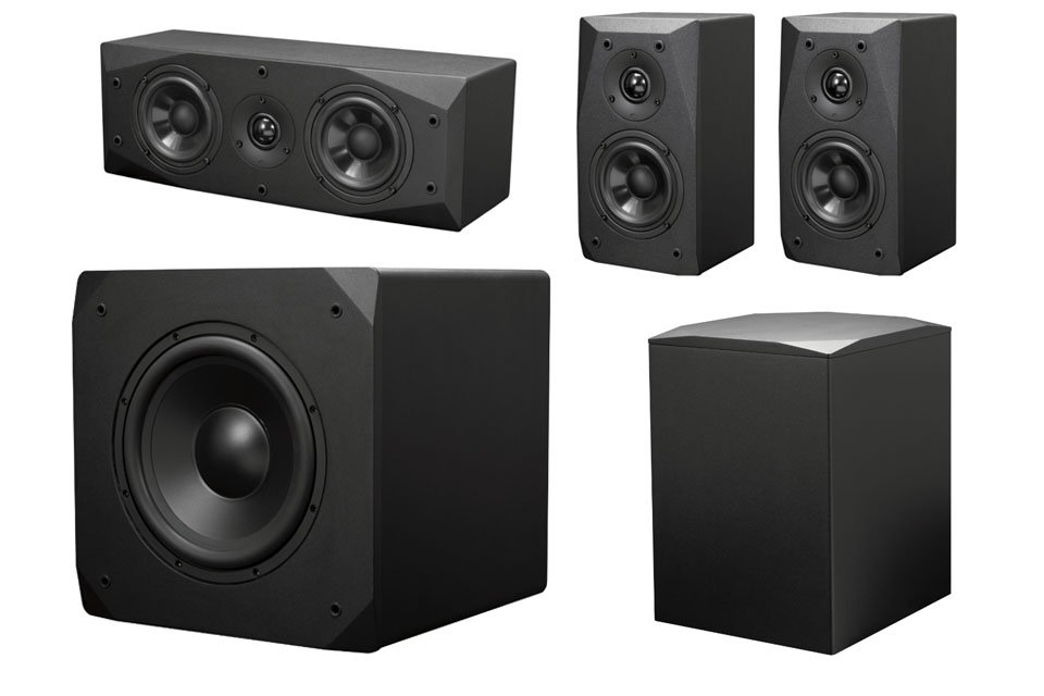Emotive BasX Speakers and Subs