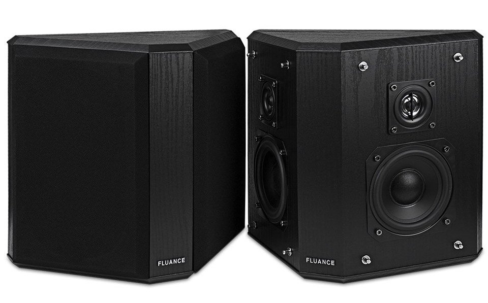Fluance SXBP2 Bipolar Surround Sound Speakers
