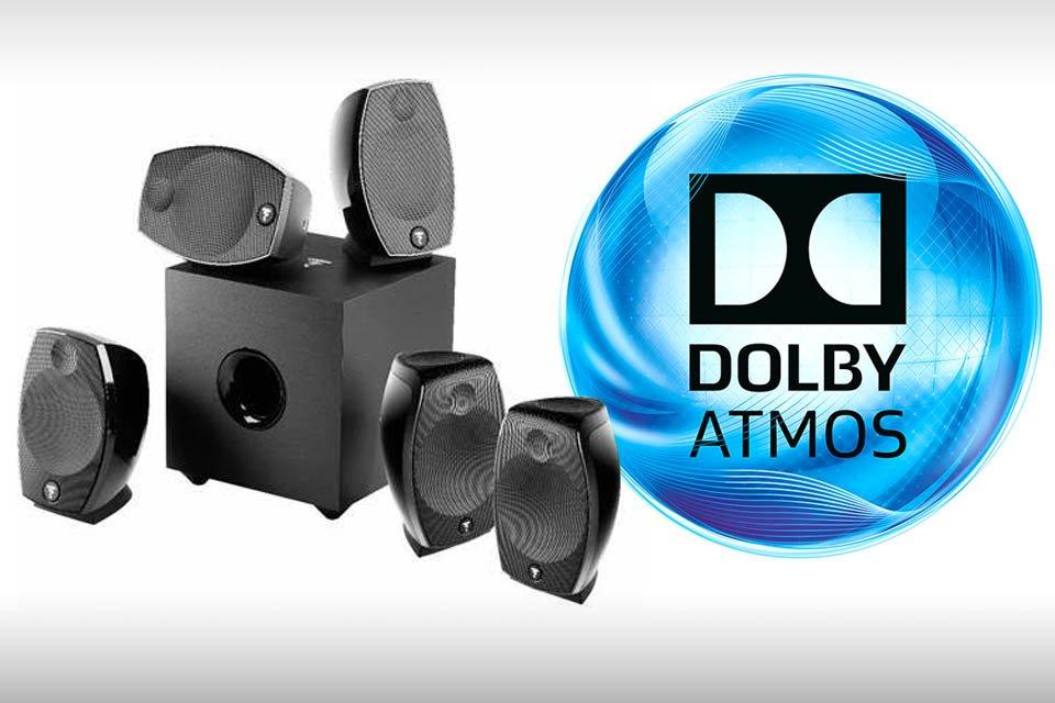 Foacl Sib Evo 5.1.2 Dolby Atmos speaker system