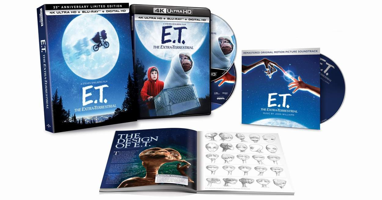 E.T. The Extra-Terrestrial 35th Anniversary Gift Set Ultra HD Review