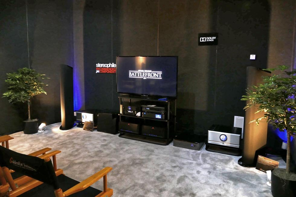 GoldenEar In-Ceiling Dolby Atmos Demo at CEDIA 2015 - AVSForum com