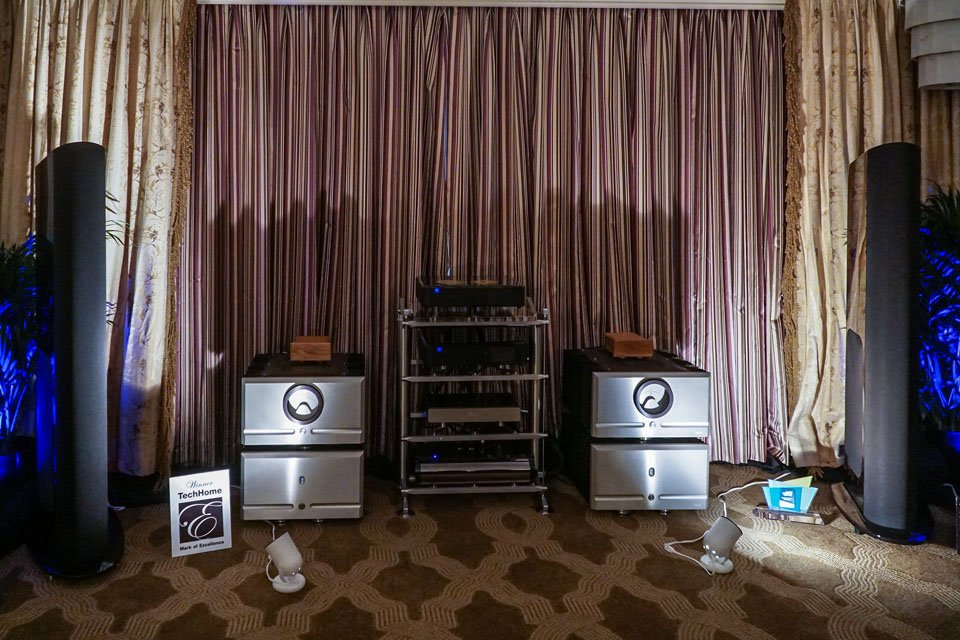 GoldenEar Triton Reference Speakerds at CES 2017