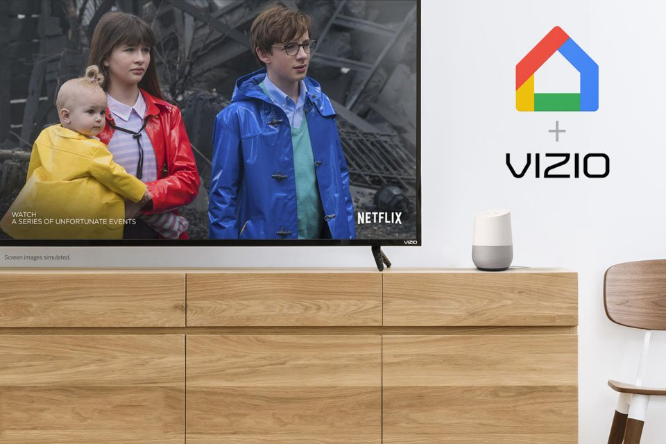 Vizio Smartcast Now Supports Google Home