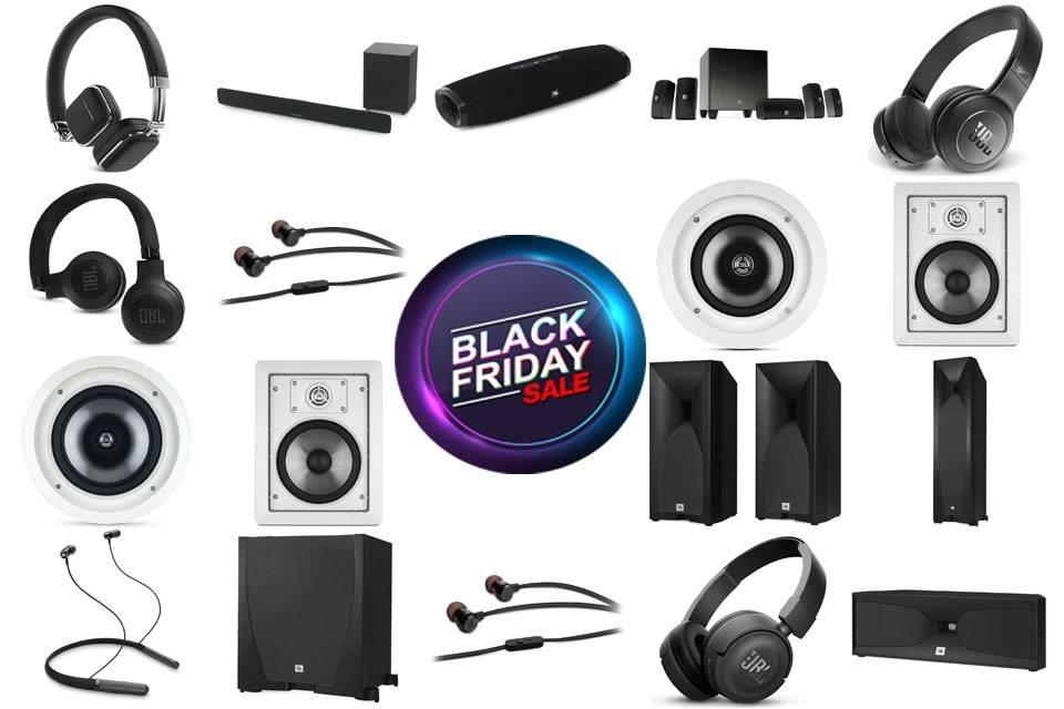 Black Friday Deals on JBL & Harman-Kardon Audio