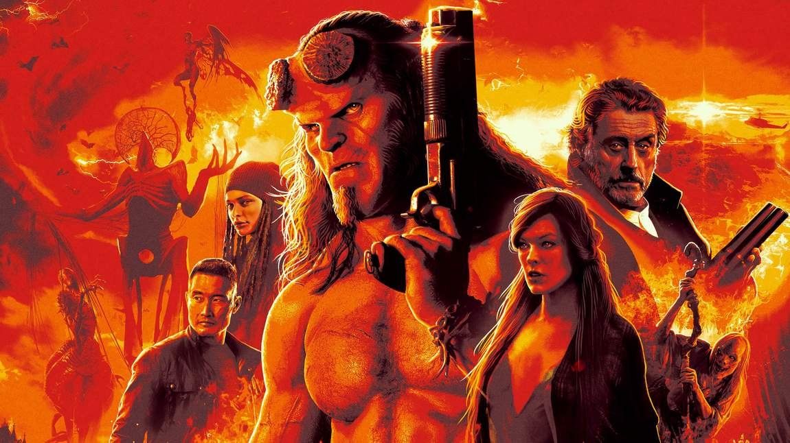 Hellboy Ultra HD Blu-ray Review - AVSForum com