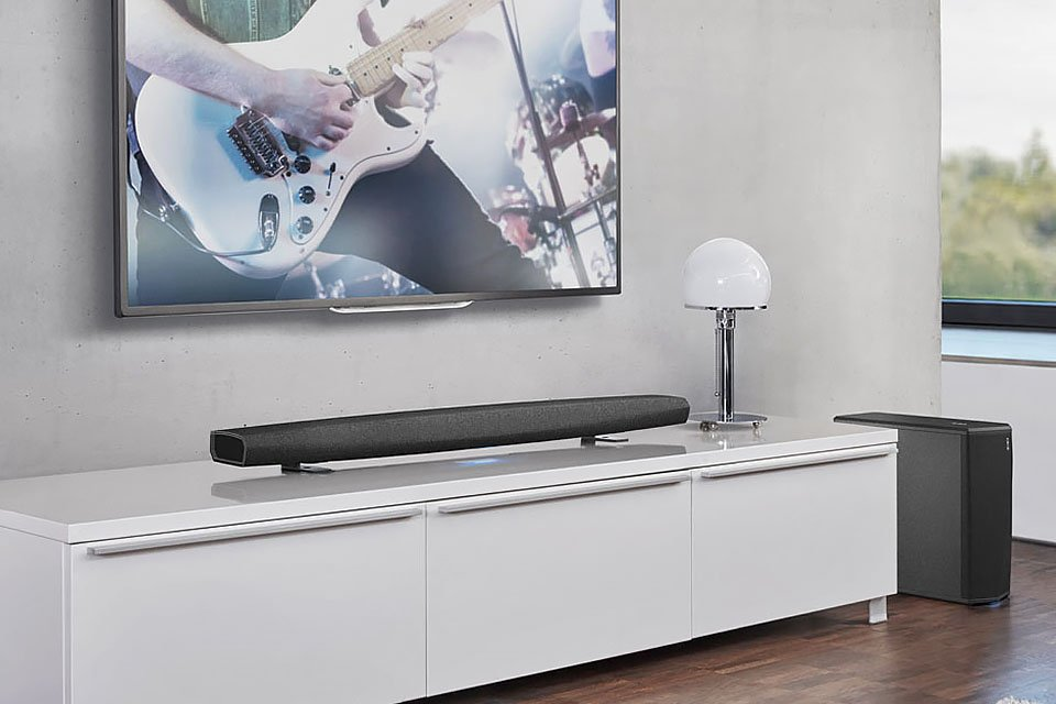 Denon HEOS Bar and HEOS Subwoofer Revealed