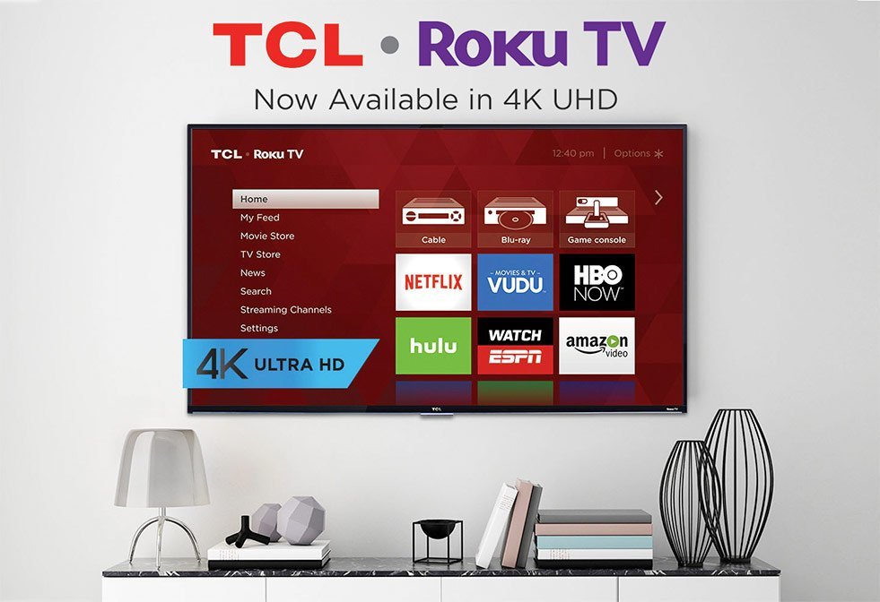 TCL Roku TV - Now Available in 4k Ultra High Definition!