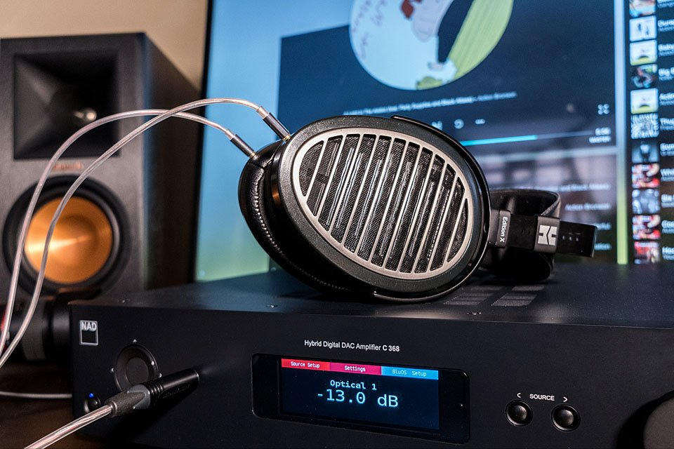 NAD C368 and HiFiMan Edition X V2 Headphones