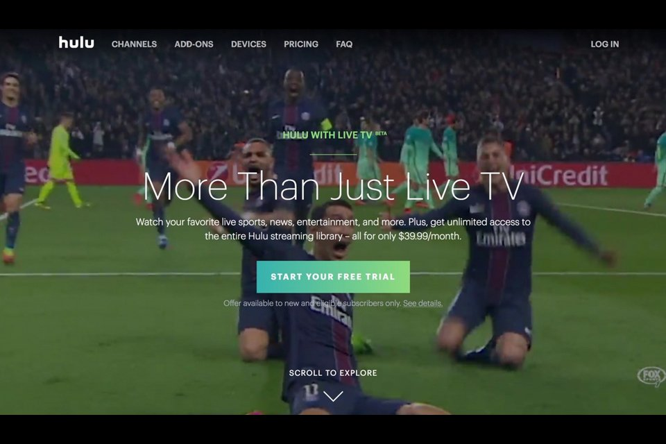 Hulu live tv streaming service launched in beta avsforum a beta version of the long awaited hulu live tv service was launched this week joining a growing list of online providers of live television programing sciox Images