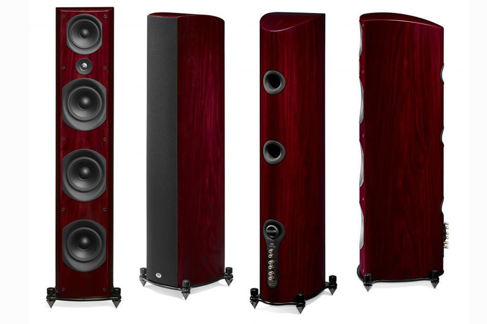 PSB Imagine T3 Tower Speakers Cherry Finish