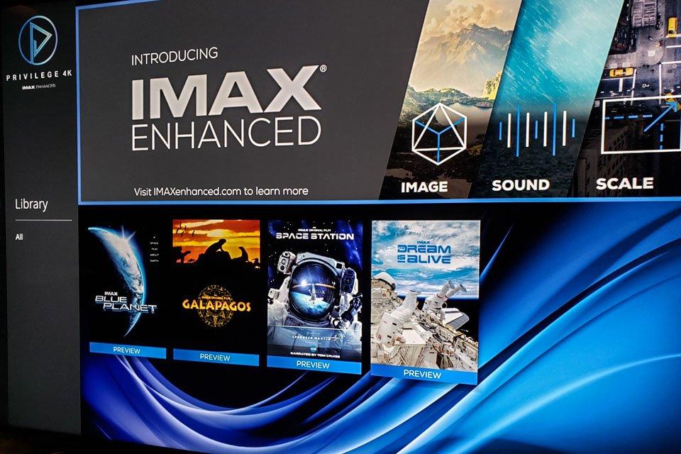 Privilege 4K Movies App Streams IMAX Enhanced Content on Select Sony TVs