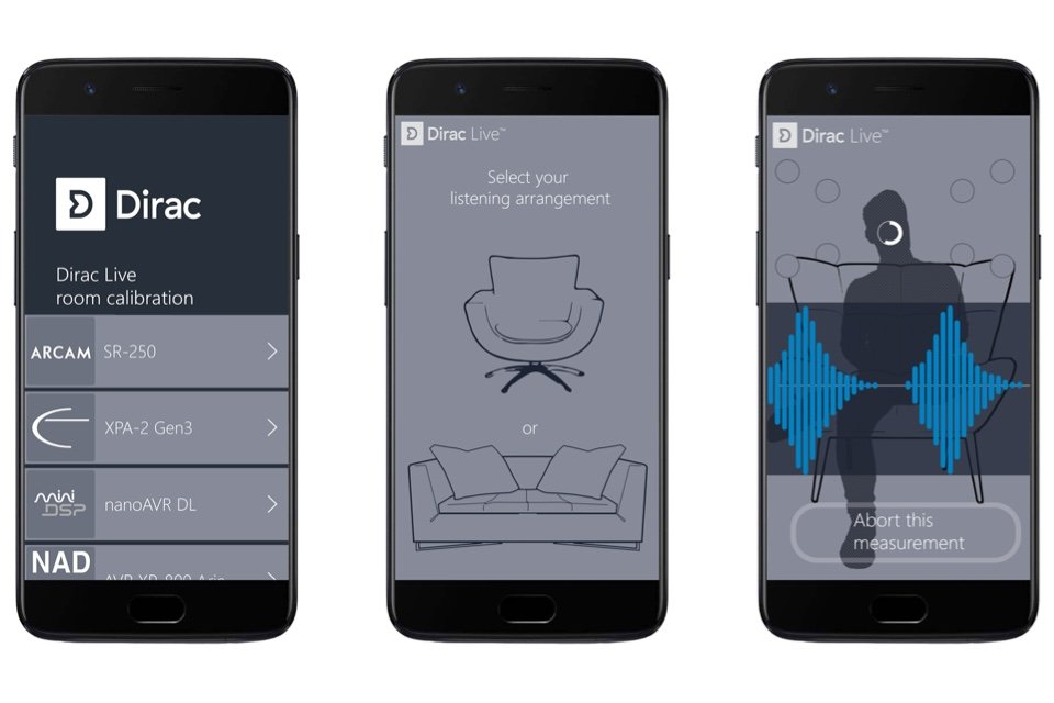 Mobile Dirac Live App