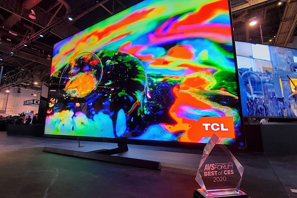 TCL 4K and 8K QLEDs at CES 2020