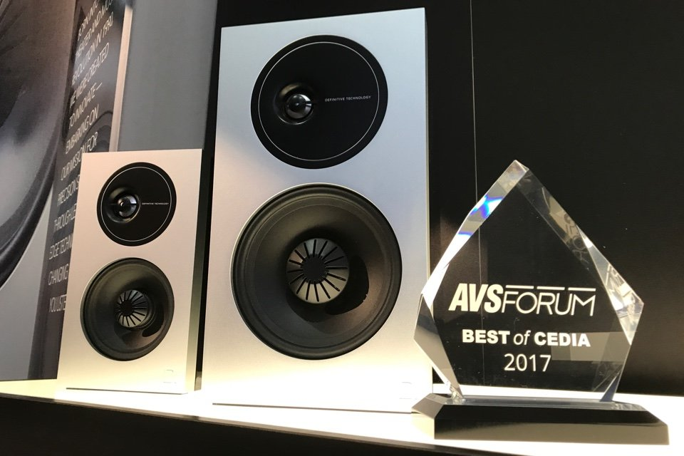 Definitive Technology Demand Series Speakers at CEDIA 2017