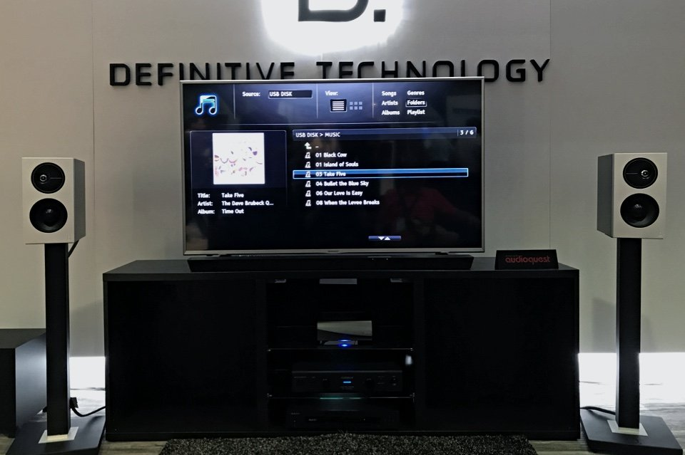 Definitive Technology Demand Series speakers