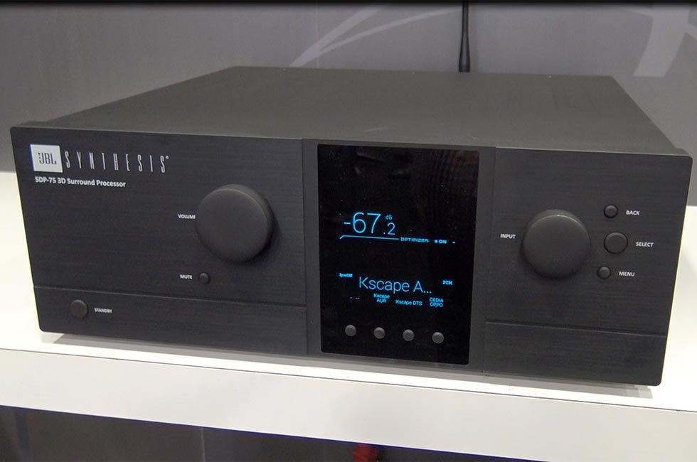 JBL Synthesis SDP-75 3D Surround Processor at CEDIA 2015