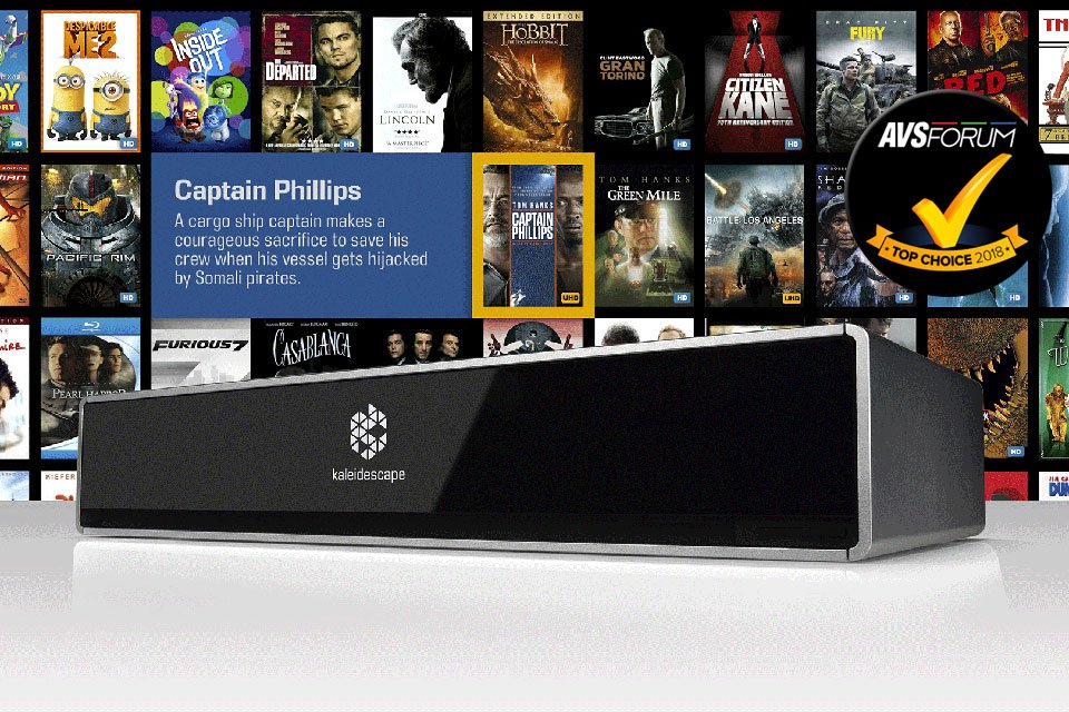 Review: Kaleidescape Strato 4K/UHD HDR Movie Server