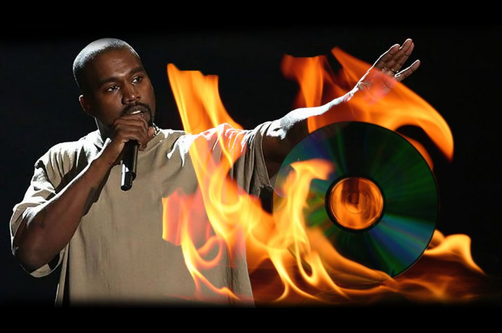 Kanye West Just Says No to CDs