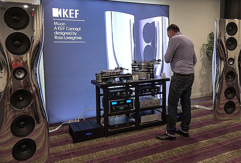 KEF Muon Mk2 & VPI Titan at Capital Audiofest 2016