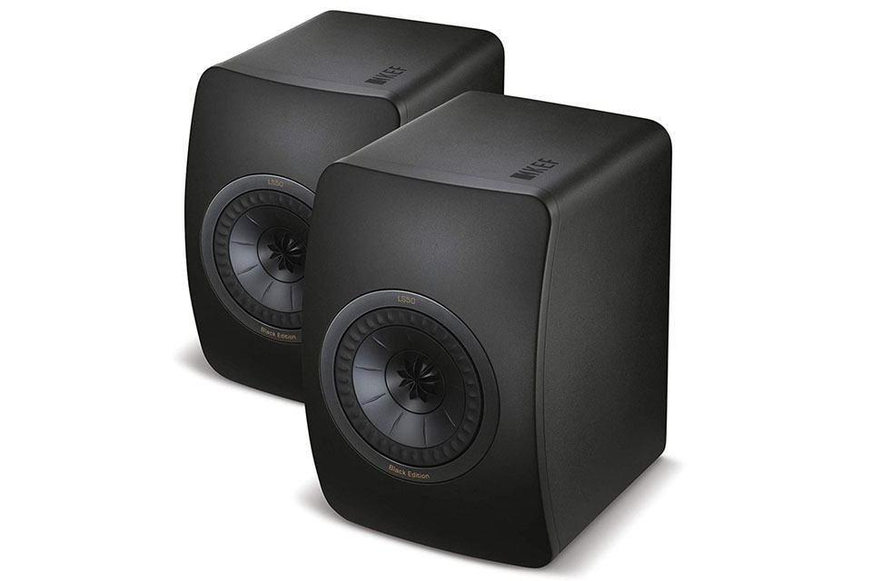 KEF LS50 Black Edition Speakers $899.98 on Amazon