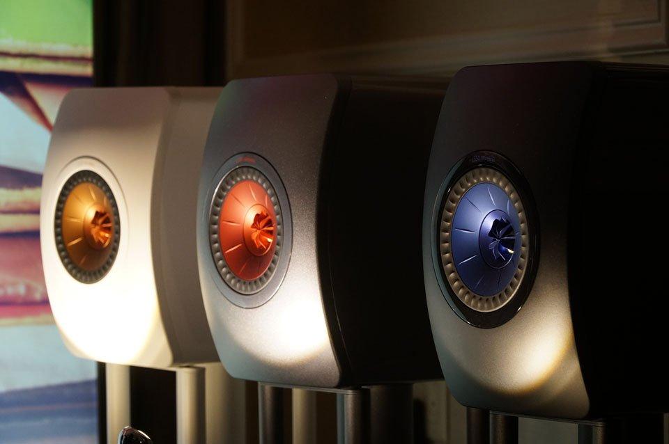 KEF LS50 Wireless audio system