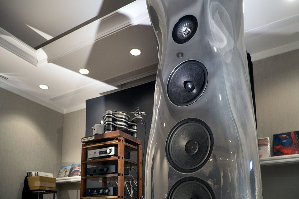 KEF Muon and VPI