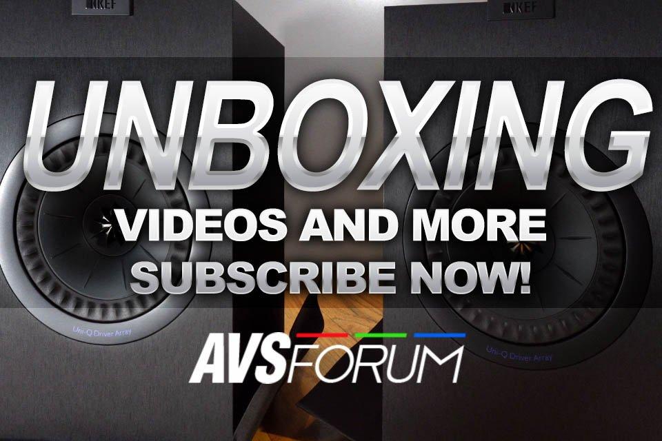 AVS Forum YouTube Channel Surpasses 1,000,000 Views!