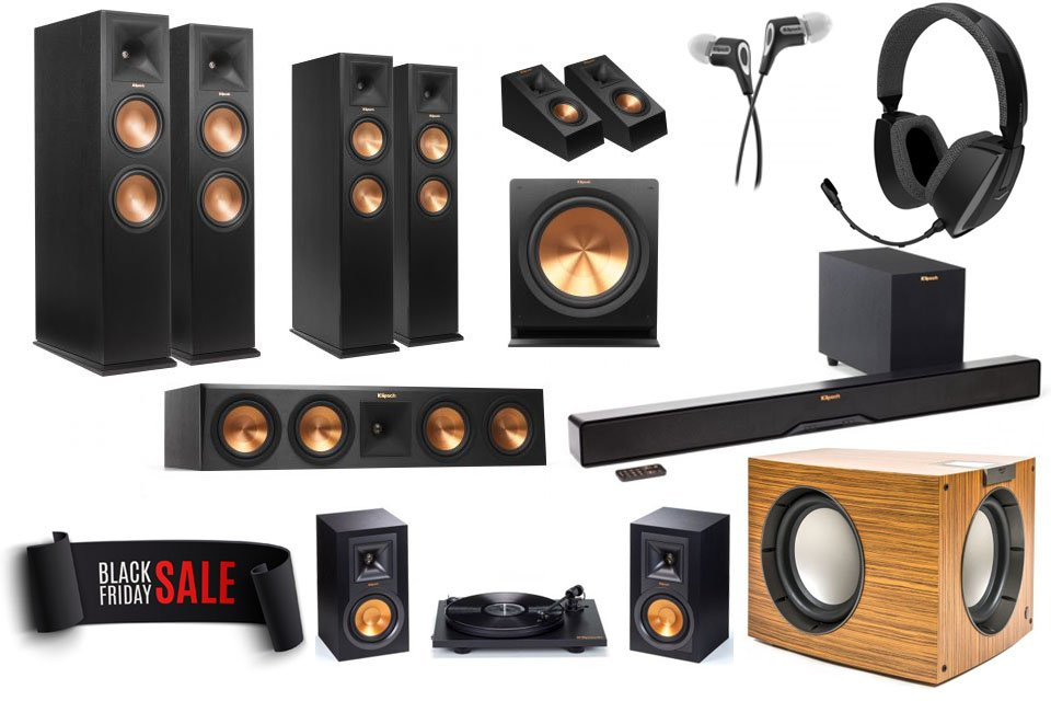 Klipsch Black Friday Week Specials: Up to 70% Off