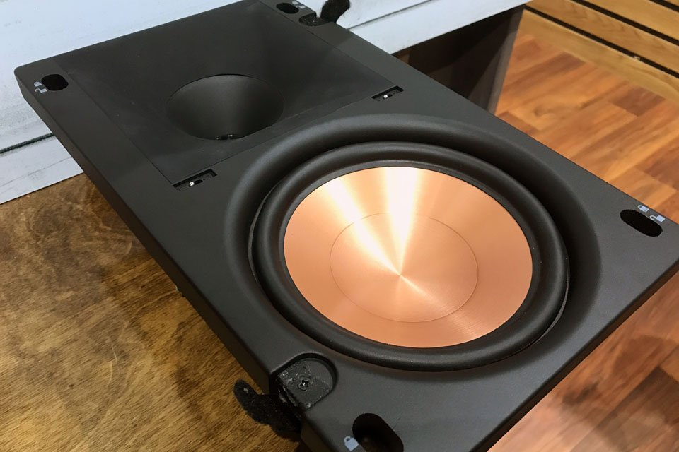 speaker detail world products wide klipsch white each pro stereo ceiling speakers in
