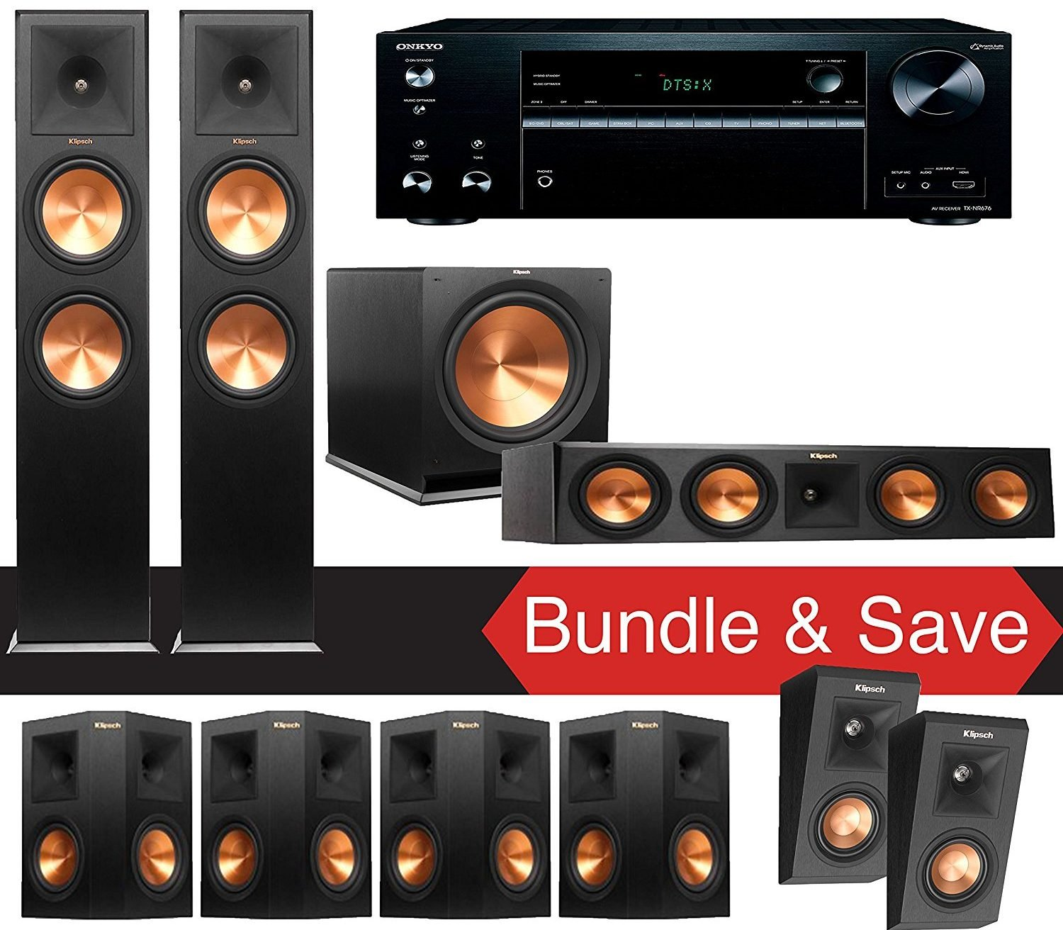 Best Surround Sound Systems To Buy For Fathers Day Avs Forum 1 Set System Go All Out And Get Dad A Full This From Klipsch Includes Two Rp 280f Floorstanding Loudspeakers Four 250s Speakers