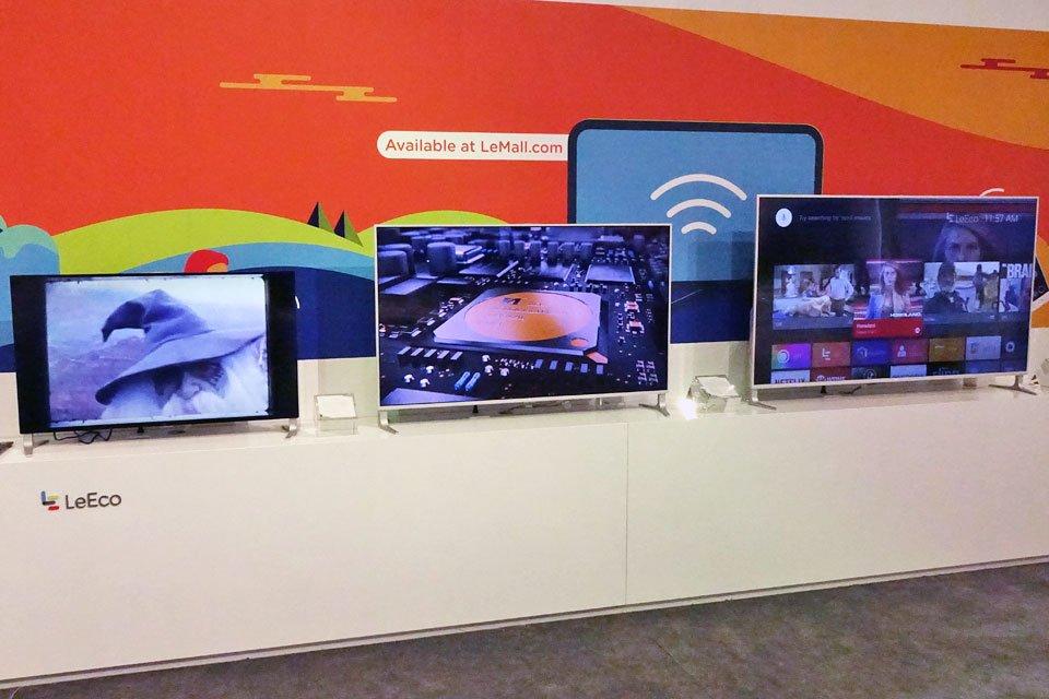 LeEco uMax85, Super4 X Series, U65, and Quantum Dot WCG Demo