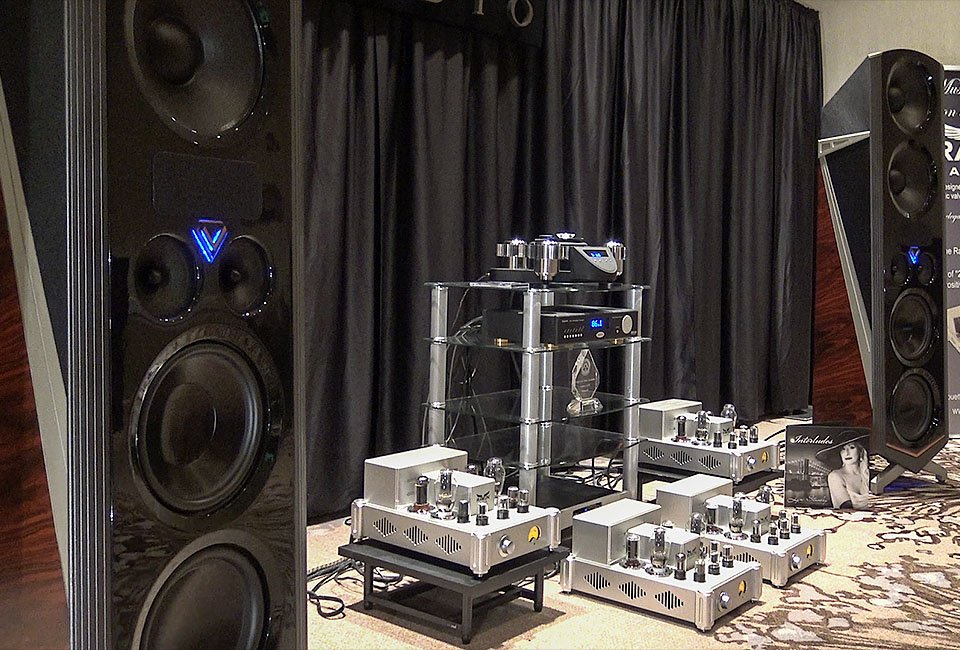 Legacy V Speakers Demo at AXPONA 2016