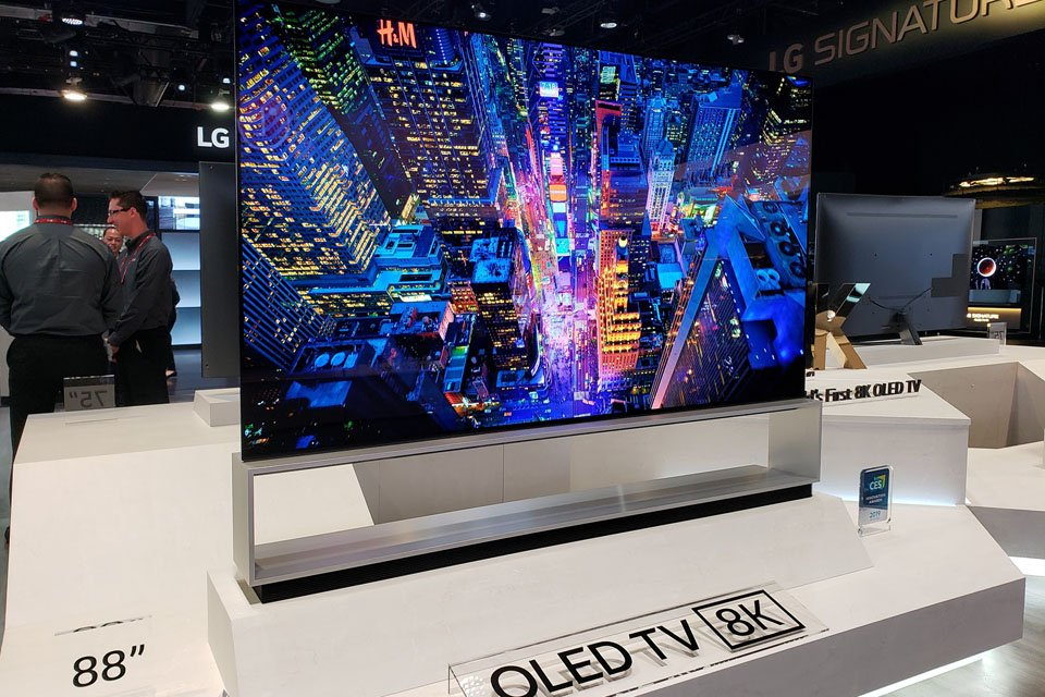 LG Announces 2019 TV Rollout Including 8K OLED 88Z9