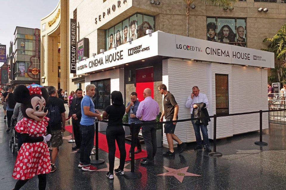lg cinema house