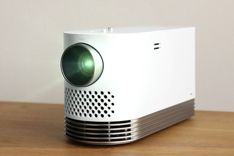 The LG ProBeam laser light engine projector