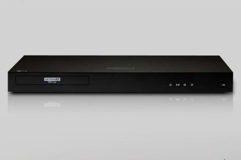 LG UP970 UHD Blu-ray Player at CES 2017