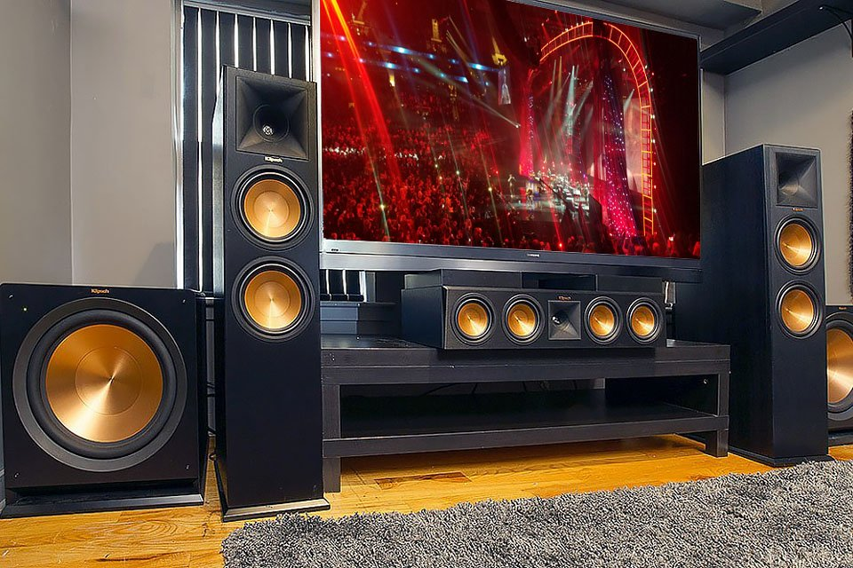 Can your home stereo get as loud as a live rock concert?