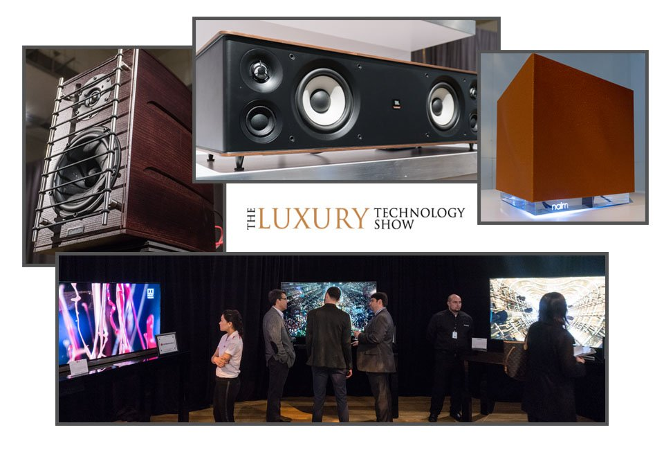 luxury tech show homepage