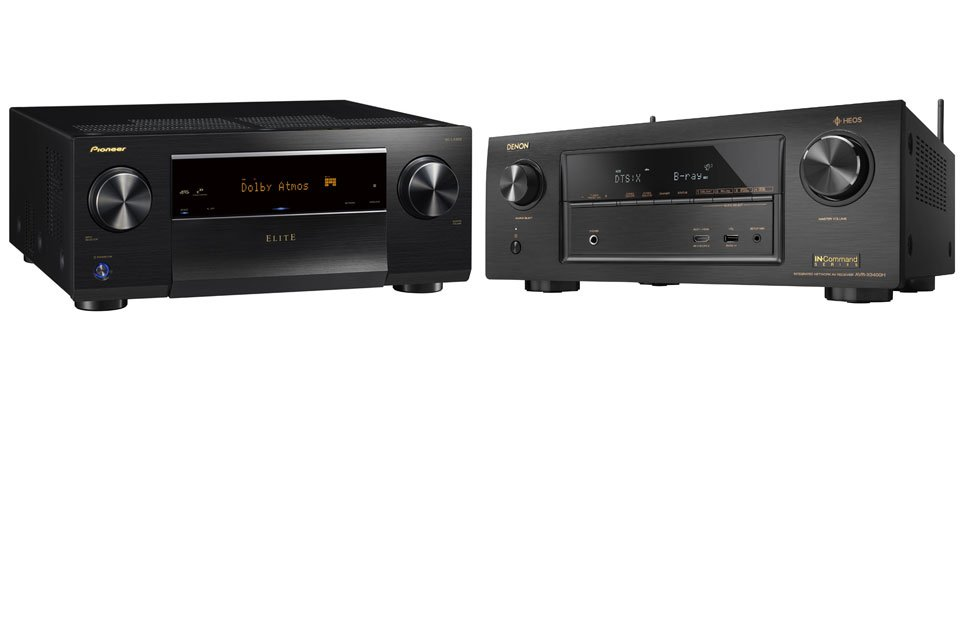 AVR Comparison: Pioneer Elite SC-LX502 vs Denon AVR-X3400H