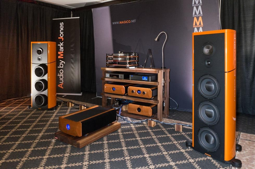 Magico S7 Speakers at TAVES 2015