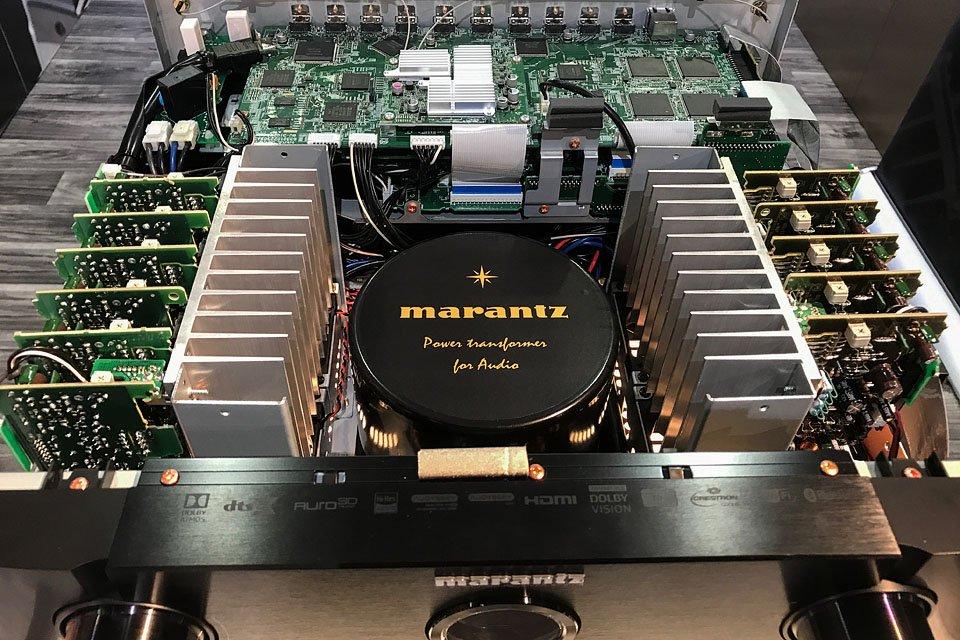 Marantz AV7704 Pre/Pro, SR7012 and SR8012 AVRs at CEDIA 2017