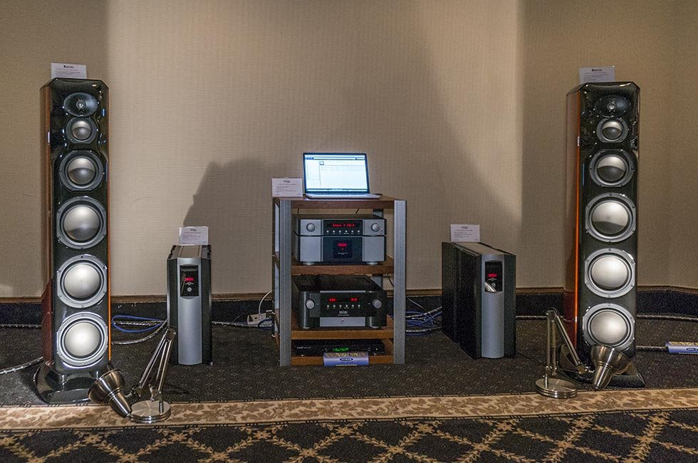 Mark Levinson and Revel Salon 2