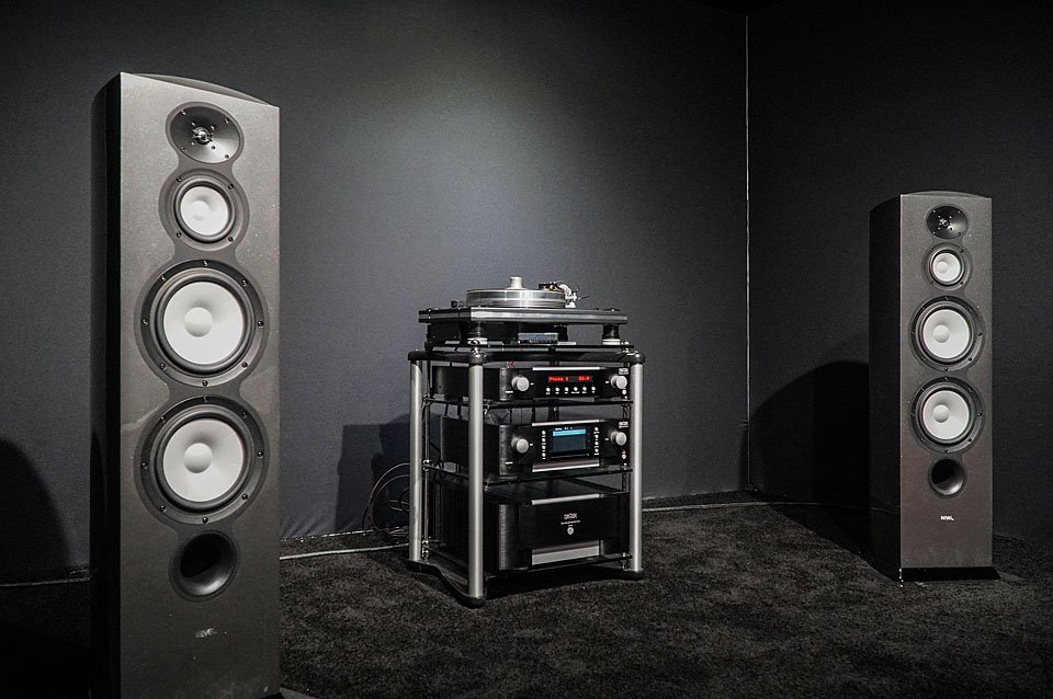 Mark Levinson Electronics and Revel Performa F208Be Demo CES 2017