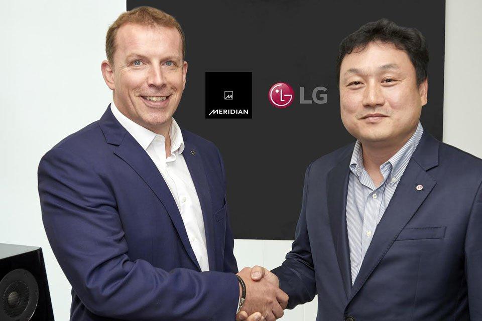 Meridian Audio and LG Electronics partnership